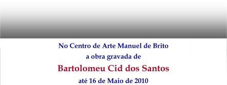 Going South, Exposição da Obra de Bartolomeu Cid dos Santos