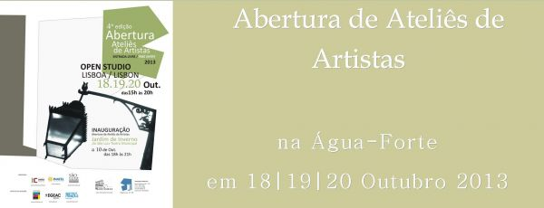 Ateliers de Artistas Abertos 2013