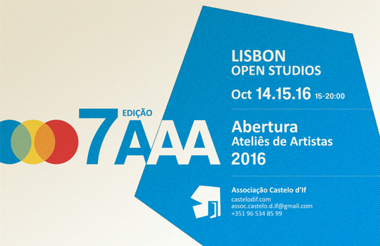 Ateliers de Artistas Associação Castelo D'If, 14, 15 e 16 de Outubro de 2016