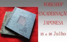 Workshop encadernação japonesa por Mami Higuchi
