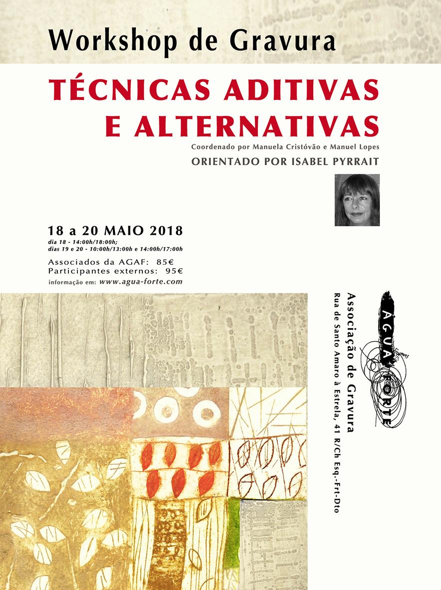 workshop técnicas aditivas alternativas