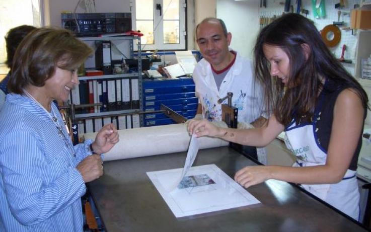 Workshop Teresa Pato, Fátima Ferreira e Margarida Lourenço