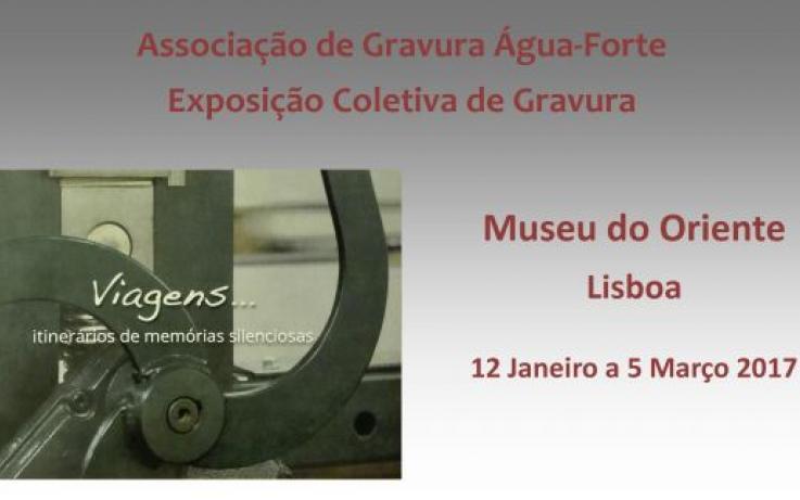"""Exposição Coletiva """"Viagens... Itinerários de memórias silenciosas"""", Museu do Oriente, Lisboa"""