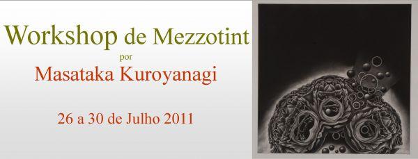 Workshop de Mezzotint por Masataka Kuroyanagi