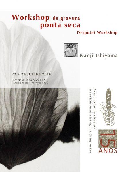 Workshop da técnica de Ponta Seca