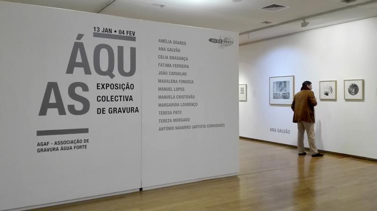 Exposição Colectiva de Gravura da Associação de Gravura Água-Forte 2018
